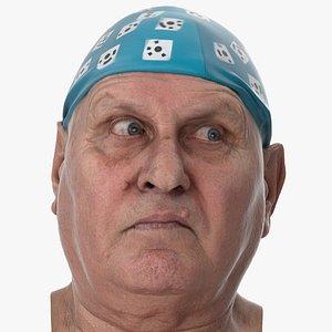 Homer Human Head Eyes Turn Right AU61 Clean Scan 3D model