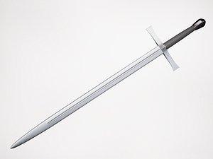 sword metallic 3D