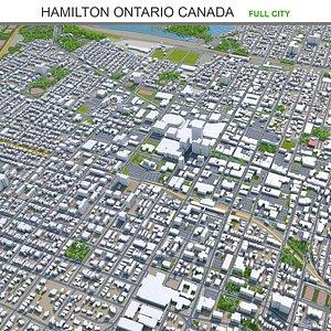 Hamilton Ontario Canada model