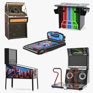 Arcade Games Collection 7 3D model