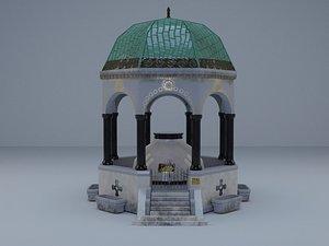 OttomanFountain model
