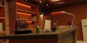 3D model CEO Office Design