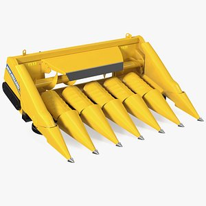 Rigid Corn Header New Holland 980CR 6 Rows 3D model