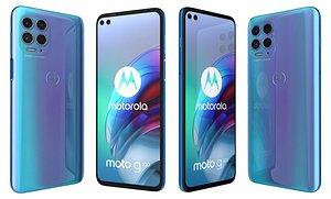 3D Motorola Moto G100 Iridescent Ocean