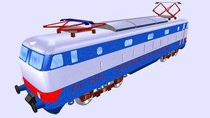 3D electric locomotive e444 model