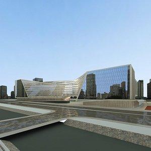 3D Mall - Exterior Design