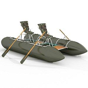 Catamaran two seets 3D model