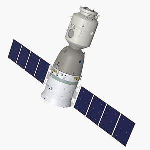 3D Shenzhou 12 spacecraft