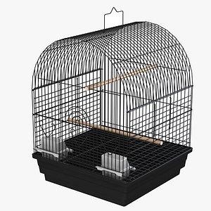 3D model Bird Cage 02