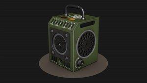 3D Military radio Hypoly