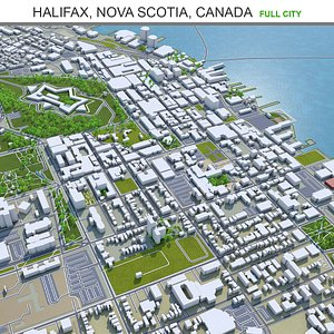 Halifax Nova Scotia Canada model