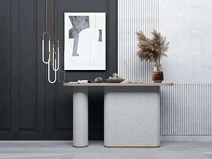 3D model Modern Style Console - 045