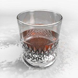 Whisky Glass 3D