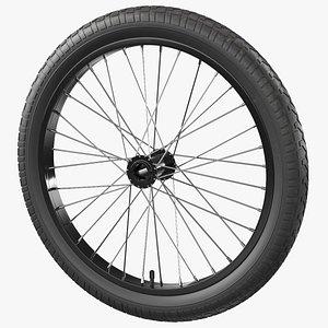 Spoke Wheel 3D