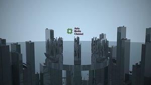 3D Greeble Animation