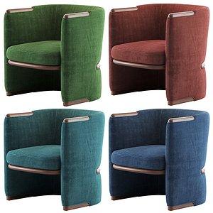 3D opus armchair giorgetti