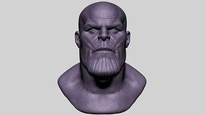 zbrush head model
