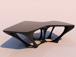 3D organic table - model