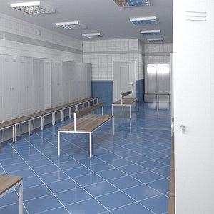 locker room lock model