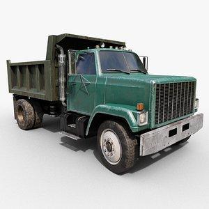 old dumping truck model