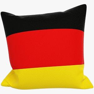 3D Sofa Pillow V45 model