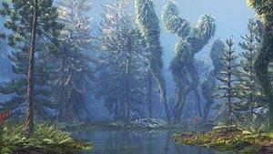 jurassic forest model