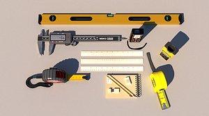 3D Measuring tools Tape ruler ruler laser rangefinder