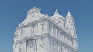 baroque churches prague print 3D model