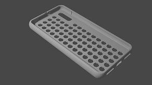 phone case Huawei Y5 2019 3D model