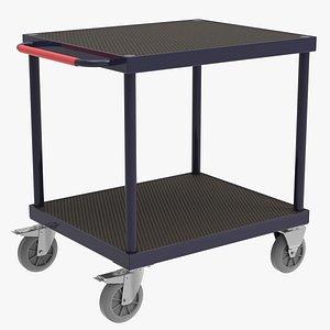 3D Platform Tray trolley