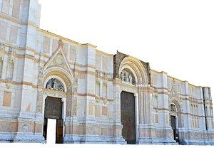 3D Italian Cathedra Facade model