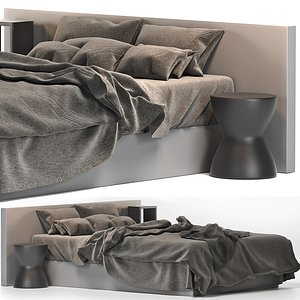 3D model Gorgeus Bohemian Bedroom Living Design