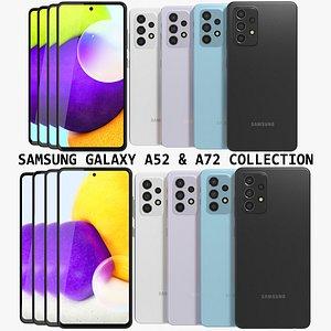 3D model galaxy a52 a72