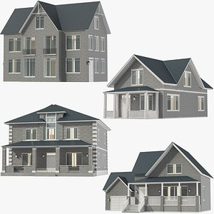 Classic Houses Collection 02 model