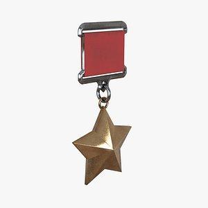 3D model Hero-star