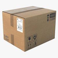 Cardboard Box New 1