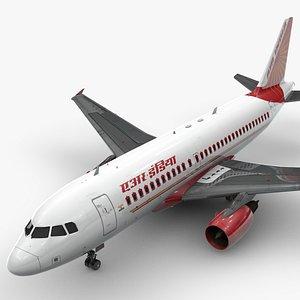AirbusA319-100AIR INDIAL1394 3D model