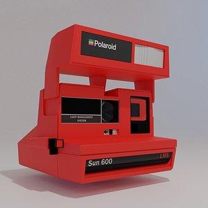 3D Polaroid lowpoly