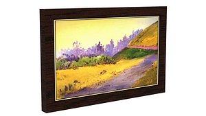 Landscape Poster model