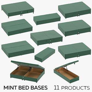 3D model Mint Bed Bases