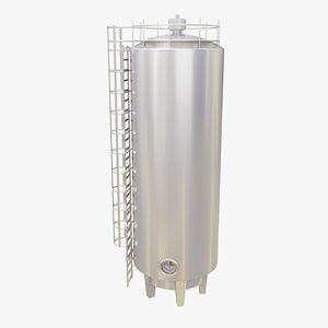 product tank storage 3D model