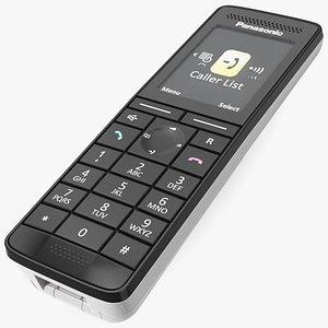 Panasonic KX PRS120 Cordless Telephone 3D