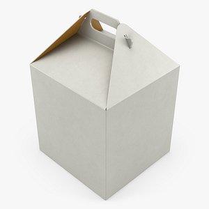Food Box 03 3D model
