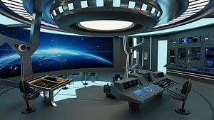 Starship - Startrek Bridge model
