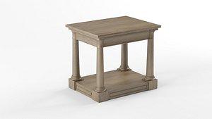 3D BERTRAND SIDE TABLE model