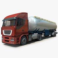 Generic Semi Truck -Semitrailer Tank