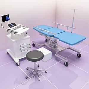 3D Ultrasound Room 2 v2 model