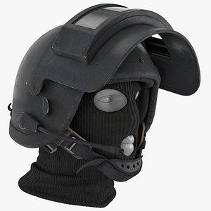 3D model Heavy Ballistic Helmet Rys-T