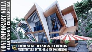 3D villa contemporary