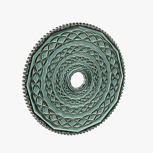 3D Actual 3D RELIEF Celtic Coin - Dungeon Collection